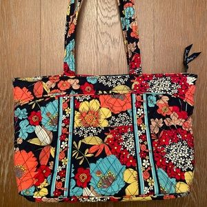 Vera Bradley Multicolored Print Shoulder Bag